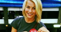 Julianne Hough's hair seems to be pretty similar to mine. (I am NOT watching Safe Haven just for references, so don't even tell me to.) I think this would look good when hair decides to be either wavy or straight depending on its mood.