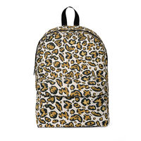 Cheetah pattern Classic Backpack for all ages $39.00