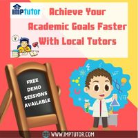 Want someone who can guide you in a proper way? Explore our online platform and find Local Tutors around your locality who can guide you at your home - IMPtutor. We make hiring tutors easy, just tell us your needs by filling a simple form and get a list o...