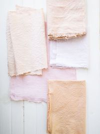 fabric natural dyeing DIY //