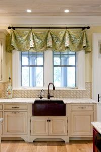 Kitchen windows are ones of the most important elements in this room. They give a light to the kitchen and also softness and embellishment. No matter what are t