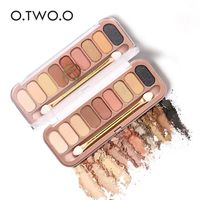 O.TWO.O® 9 Colors Eye-shadow Palette With Brush $15.97