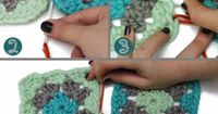 Connecting granny squares