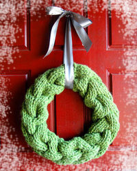 Cable Vision Wreath