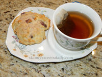 Warm and Comforting Cranberry Scones