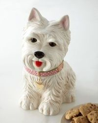 "H6SXM ""Westie"" Cookie Jar"