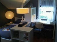 Contemporary/Modern College Dorm, I just transferred schools and majors, now I am an Interior Design major at the Fashion Institute of Techn...
