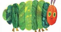 """Students can listen to author, Eric Carle read his award-winning book, """"A Very Hungry Caterpillar"""""""