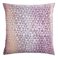 Opal Triangles Velvet Pillow by Kevin O'Brien Studio $311.00