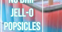 Jell-O Popsicle recipe, questions and melt test.