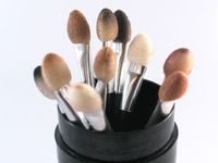 TIPS: Brush up on your beauty skills with this guide to the best make-up application techniques. | See more about brushes and beauty.
