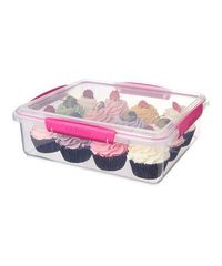 Pink KLIP IT Bakery Accents Container by Sistema on #zulily