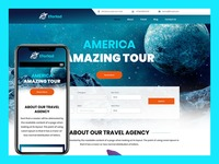 """Eforlad �€"""" Travel Agency Html Template is right solution for travel booking business company website. It's very easy to use and fairly simple to customize. @ http://bit.ly/TravelAgencyHtmlTemplate"""