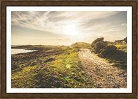 Beach Trail Framed Art | Retro toned landscape photograph on a trail of twists and turns through wild sundown coastal country. Granville Harbour, West Coast Tasmania, Australia | Jorgo Photography #granville #harbour #discovertasmania #landscape #art #pri...