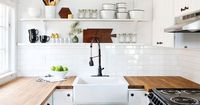 Space is always an issue in small homes and especially in small kitchens. Every inch of cabinet and counter space is precious in a small kitchen and can't affor