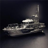 3D Metal Puzzle, Assembly Model Lifeboat,Jigsaw Puzzle Stainless Steel,Creative Toys Gift $37.80