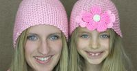 DIY Free Pattern Easy Simple Beginner Crochet Hat with Size Chart with YouTube Video by Naztazia