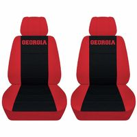 Front Customized Seat Covers Fits a 2012 to 2018 Dodge Ram Georgia Embroidered Seat Covers $79.99