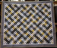 Starry Nights quilt! A modernized antique pattern...