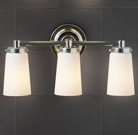 Asbury Triple Sconce - Polished Nickel $195 Restoration Hardware