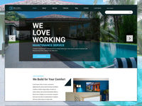 BlueSky - Maintenance Services PSD Template is well suited for Home Maintenance, Automobile Washing, Car Repair Services, Auto Center and any kind of business.  @ http://bit.ly/MaintenanceServicesPSDTemplate