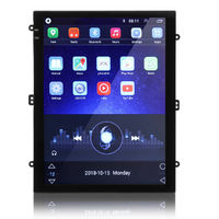 9.7 Inch 2DIN for Android 8.1 Car Stereo Multimedia Player Quad Core 1+16G 2.5D Portrait Screen GPS WIFI FM Radio