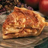 I live in a big apple-producing state, so I think this recipe represents our region well. I tasted this pie many years ago when my children's babysitter made it