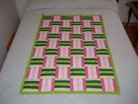 Super cute quilt...I can crochet this!