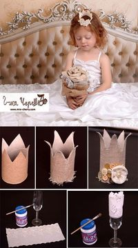 """Two ideas for crowns �€"""" DIY"""