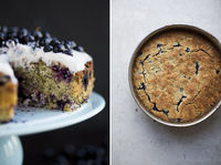 Blueberry Almond Cake - Green Kitchen Stories - replace 3 eggs
