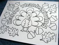 ThanksgivingKidsTablecoloringsheet