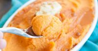Maple Whipped Sweet Potatoes | Sweet Treats and More
