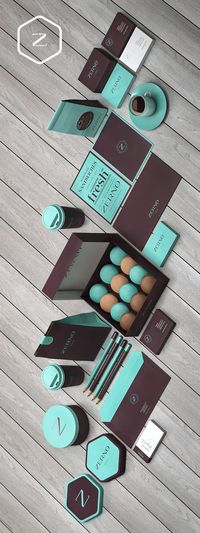 Zerno by Brandberry via Behance. Yummy colors on this #packaging PD