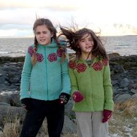 Brynja Litla version sized for 3 months through 12 years - hoodie cardigan #knit #pattern Icelandic �'�6