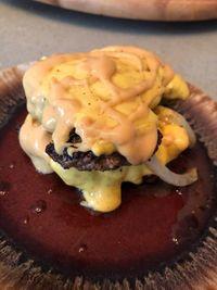 Bunless smashburgers with secret sauce