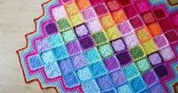 This stunning Crochet Blanket is a very Beginner friendly FREE Pattern. We've also included 'How to Crochet' for you to try!