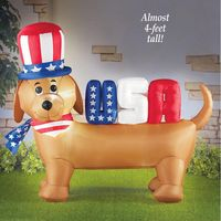Fourth of July Inflatable Dog Decoration �€� Decorshop �€� Tictail