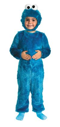 Cookie Monster Toddler Costume 12-18 Months $35.91 https://costumecauldron.com