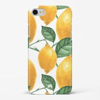 Lemon Orchard Hard Case Phone Cover from Myxtur
