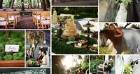 Enchanted Forest Wedding... so fairytale-like!