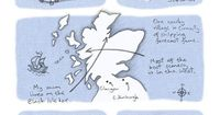 I thought for this post I would write about my recent experience of making a serialised comic about a trip I took to Scotland. It'll also give me a chance to ta