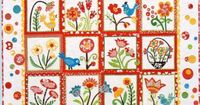 Charming!!!! - My Whimsical Quilt Garden Pattern from Piece O Cake by Pipersgirls