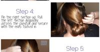 DIY Easy Woven Updo with Pictures... Uh, pretty sure mine won't turn out like this at all, but I could try. I see tired arms in my future.
