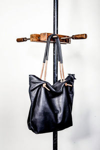 Dean - Knotted Handle Tote in Black