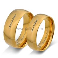 Customized Engraved Promise Anniversary Rings Set https://www.gullei.com/customized-engraved-promise-anniversary-rings-set.html