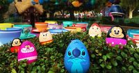 Egg-citing news, Disney fans! Those of you who have enjoyed the Egg-stravaganza each spring at Disney Parks will be glad to know that it will be returning to the Disneyland Resort, at Disneyland park and Disney California Adventure park, as well as