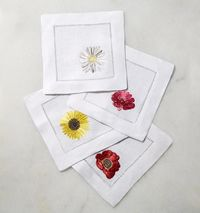Fiori Cocktail Napkin by Sferra $40.00