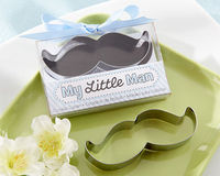 """My Little Man"" Mustache Cookie Cutter"