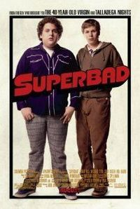 SUPERBAD. Director: Greg Mottola. Year: 2007. Cast: Michael Cera, Jonah Hill and Christopher Mintz-Plasse.