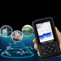 ZANLURE XF-11 3 In 1 Smart Wireless Sonar Fish Finder Wire Sonar App Display Portable Fishing Tool
